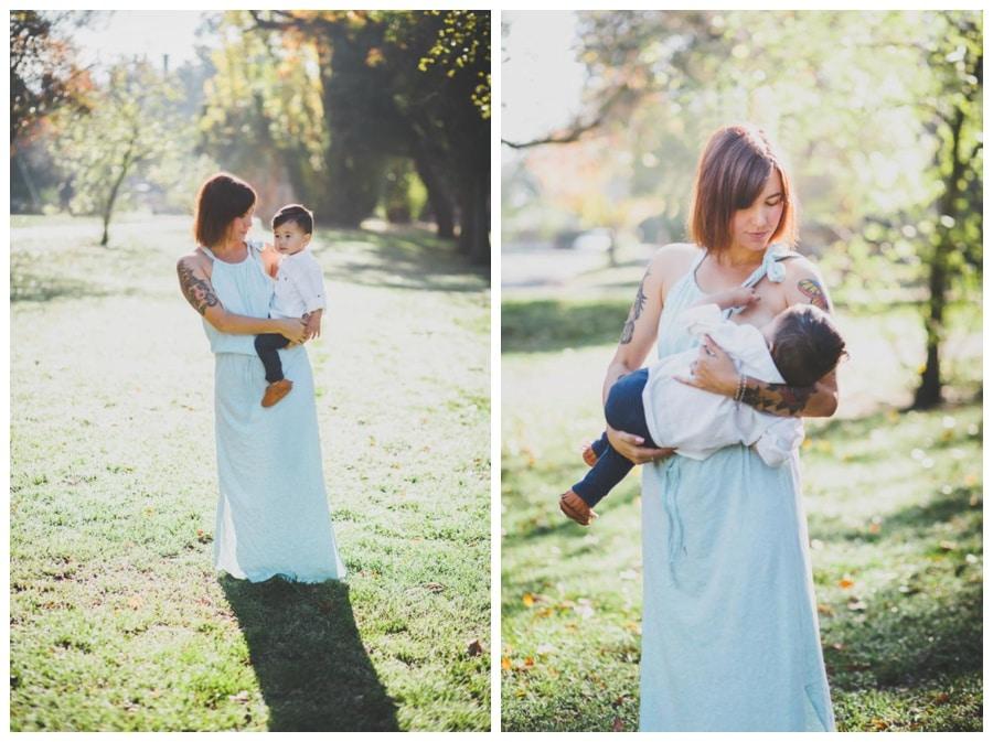 Breastfeeding Rocks! | Melbourne Family Photographer