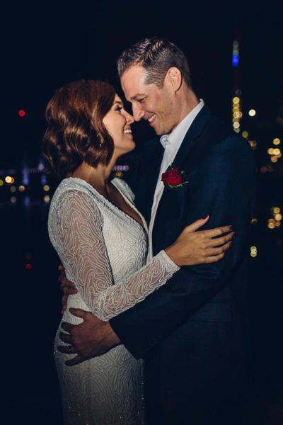 brookeandshanfinally wedding photographer melbourne docklands all smiles
