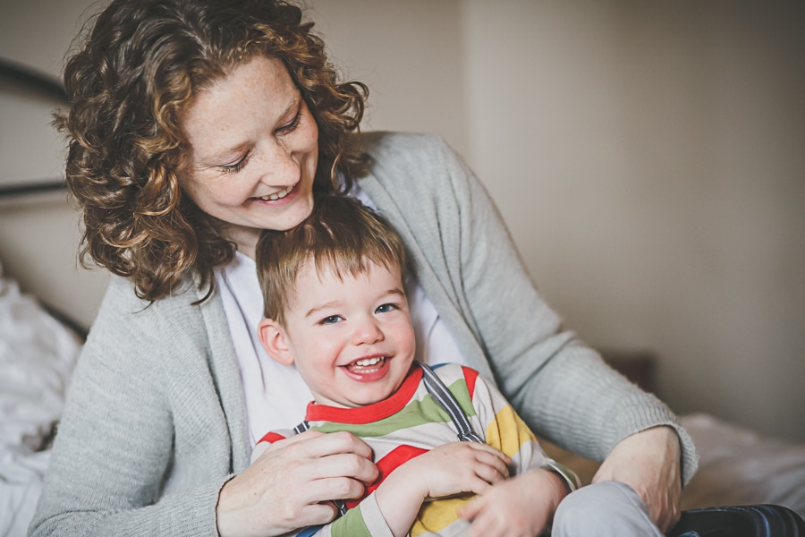 in home lifestyle photography melbourne mother and son