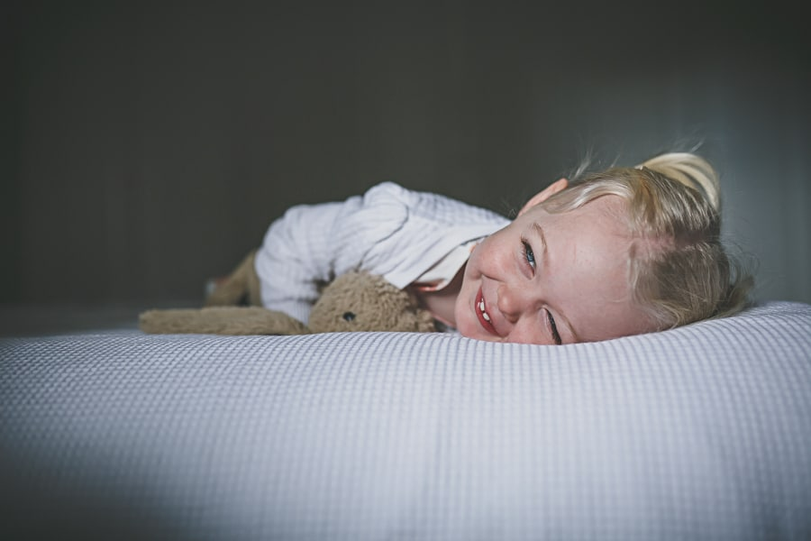 lifestyle photography melbourne girl on the bed