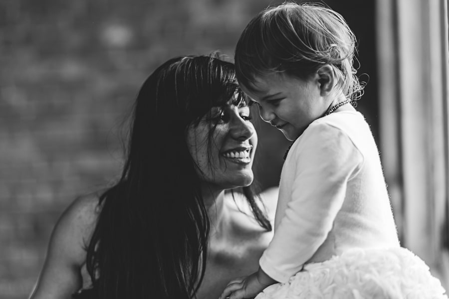 lifestyle photography melbourne mother and daughter black and white