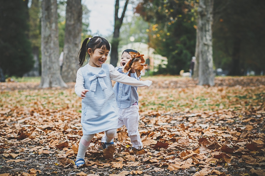 lifestyle photography melbourne fall portraits siblings