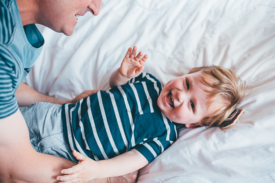 lifestyle photography melbourne boy giggling