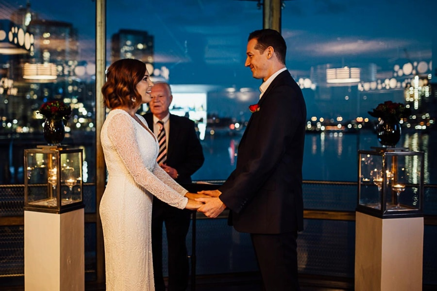 brookeandshanfinally wedding photographer melbourne docklands all smiles