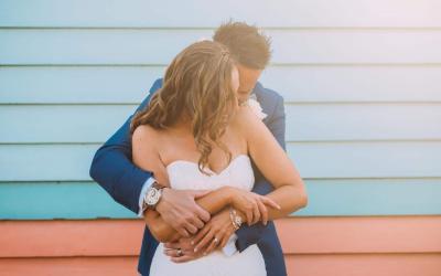 Belinda + Chris {Married} | Brighton Beach Wedding