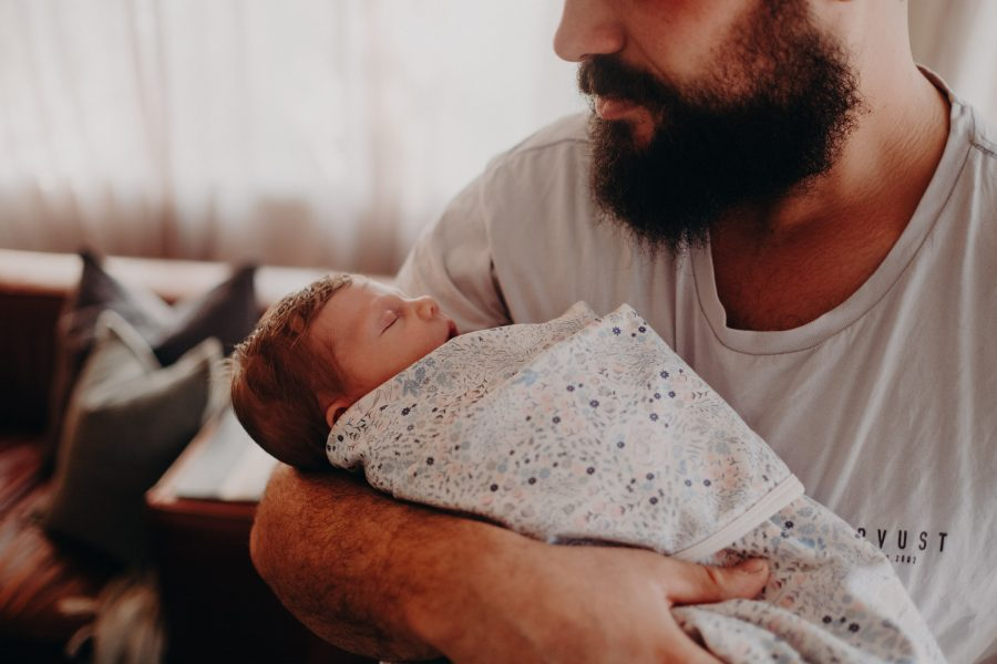 candid newborn baby portrait photographer melbourne