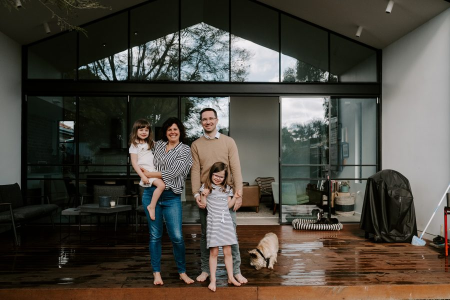 in home family photography session melbourne family photographer